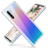 galaxy note YISAHNGOU For Samsung Galaxy Note 10 Plus 8 9 A50 A70 Ultra-thin TPU Transparent Soft Case Cover For Samsung S8 S9 S10 Plus S10E (2)