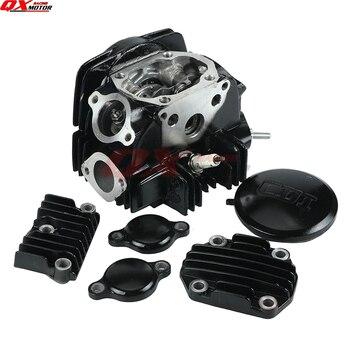 Montaje de cabezal de cilindro de 52,4mm de diámetro lifan LF 125 125cc 1P52FMI motor Horizontal suciedad Pit Bike Atv Quad Go Kart