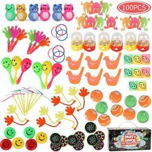 Birthday Party Gift Favors Small Bulk Toy Pinata Prizes Game Party Supplies100 Pcs Kids Puzzle Toy Giveaways Prizes