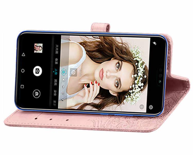 Kwiat Coque skórzane etui na HTC U11 oczy U12 życia + Android One X2 jeden X10 U Play Ultra 10 evo śruby portfel etui na telefon