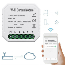 Tuya WiFi Intelligent Curtain Module Intelligent Home DIY Tool Curtain Switch Module Compatible with Alexa Google Home