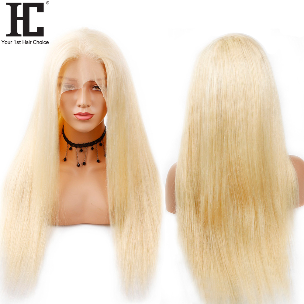 13x6 Lace Wig Remy Hair 613 Blonde Lace Front Wig Glueless Brazilian Straight Human Hair 13x6 Lace Wigs Pre Plucked