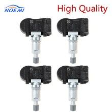 YAOPEI 4Pcs 52933 2B000 529332B000 현대 산타페 용 TPMS 타이어 압력 센서 2012 433MHZ