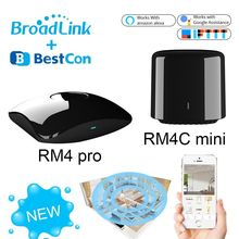 Broadlink RM4 פרו RM4C מיני חכם אוטומציה בבית WiFi IR RF אוניברסלי אינטליגנטי מרחוק בקר עבודה עם Alexa Google בית