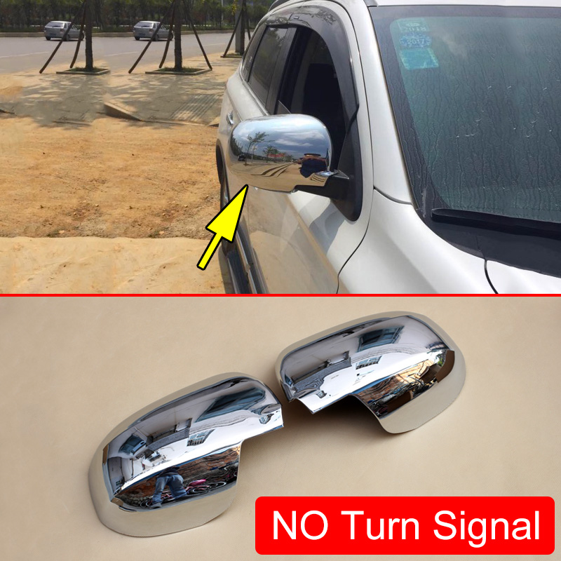 fit 2014-2018 Subaru Forester Rearview Side Mirror Cover Trim without Turn Light