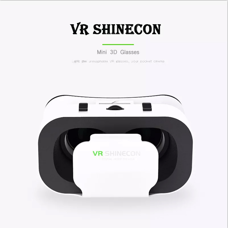 Deryohaha Full Screen VR Virtual Reality Goggles VRG Pro 3D VR Virtual Glasses Full Screen Visual Wide-Angle 3D VR Glasses Smartphone Eyeglasses for 3D Movie /& Game Black