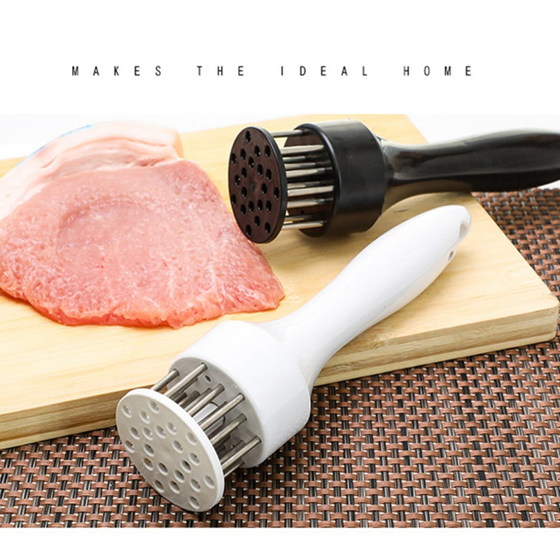 Stainless Steel Profession Meat Tenderizer Needle Kitchen Tools Mill Meat hammer for Beating off Meat Beater Kitchen Implements