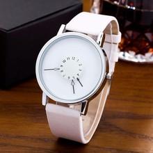 Fashion Creative Watch Women Leather Band Quartz Wristwatches Watches montres femme horloge dames horloges vrouwen