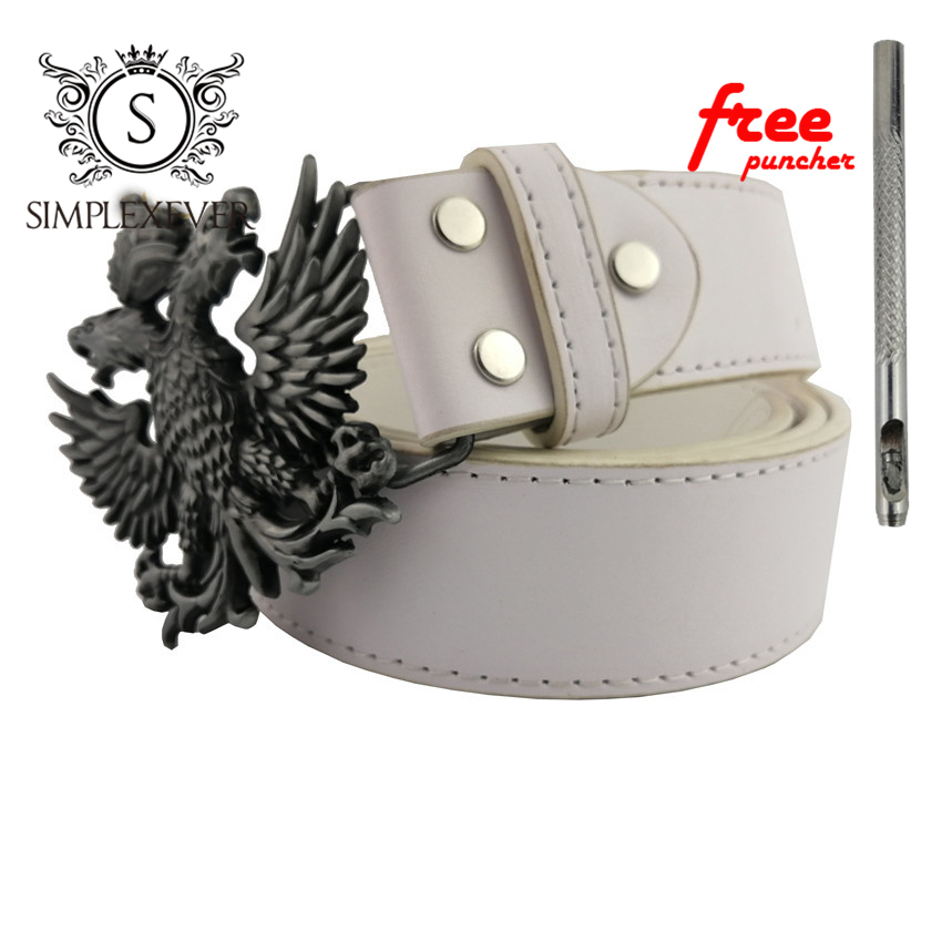Dropshipping Eagle Men's Belt Buckles Zinc Alloy Belt Buckles In Silver Plating Belt Buckle With Belt