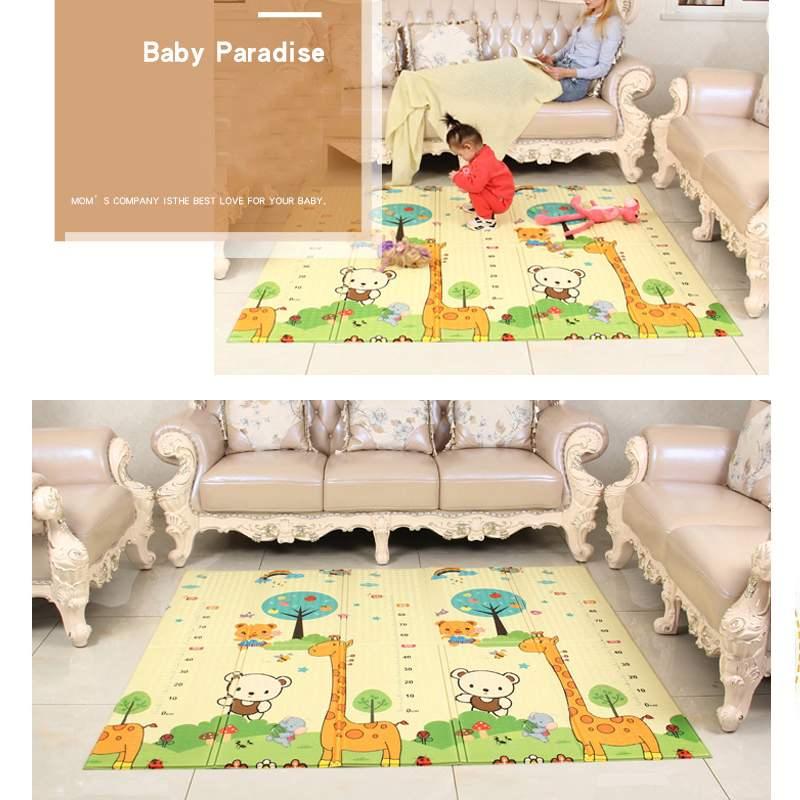 crianca dobravel jogar rastejando esteira brinquedos antiderrapante portatil sala de jogos de seguranca crianca tapete playmat