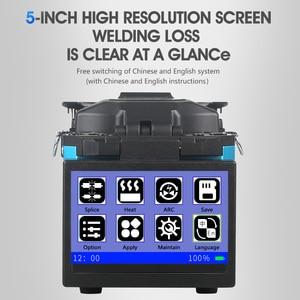 Image 2 - 2019 New product promotion COMPTYCO FTTH Fiber Optic Welding Splicing Machine Optical Fiber Fusion Splicer FS 60E