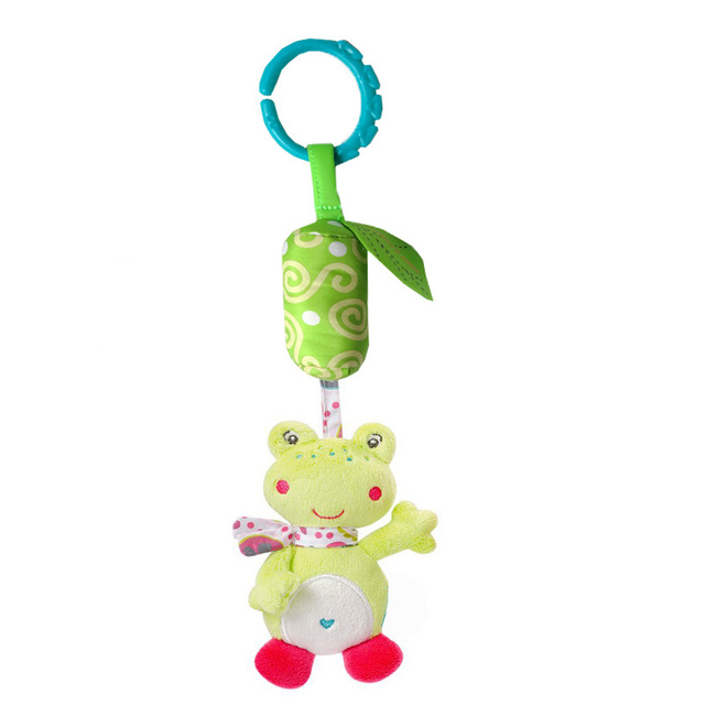 Playpen Baby Hanging Toys Stroller Rattles Plush Dolls Infant Carrier Accessories Wind Chime for Newborn Sensory Develop WJ4112   Happy Baby Mama