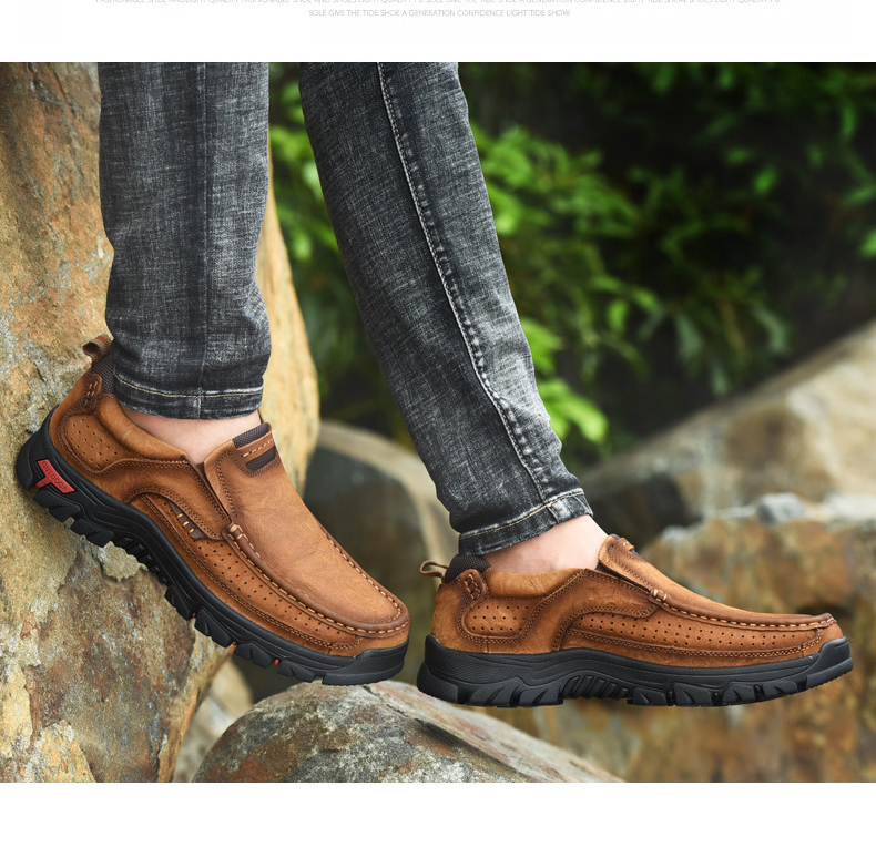 H468d235cbe0c45aeb7452c5d0d652c61U Men Casual Shoes Sneakers 2019 New High Quality Vintage 100% Genuine Leather Shoes Men Cow Leather Flats Leather Shoes Men
