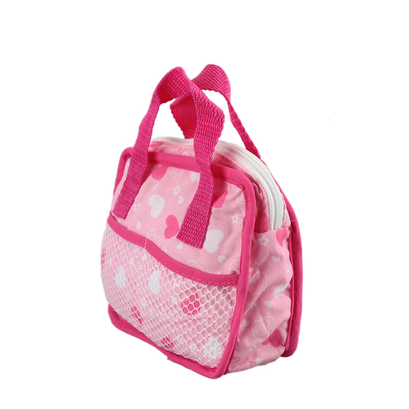 Colorful Bag Doll Accessories Fit 17 Inch 43cm Doll Born Baby Doll Accessories For Baby Birthday Festival Gift
