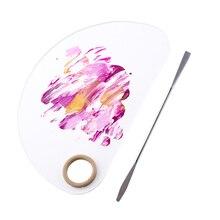 1 Blending Pigment Set Nail Art Palette Transparent Pallet Supplies Beauty Tools School Supplies Oil Painting Makeup Tools