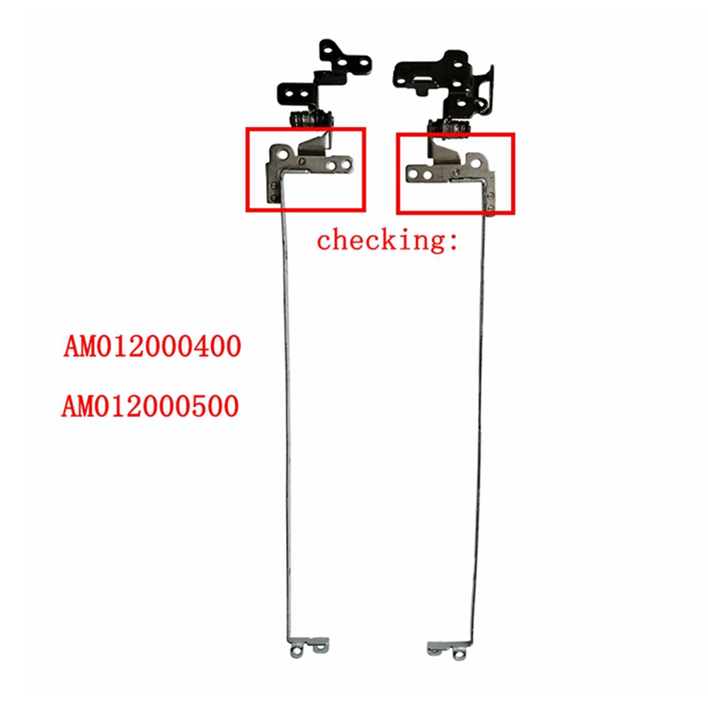 Laptops Replacements LCD Hinges Fit For Acer One 722 AO722 hinges AM012000400 AM012000500 Hinge Set Left + Right|LCD Hinges| |  - title=
