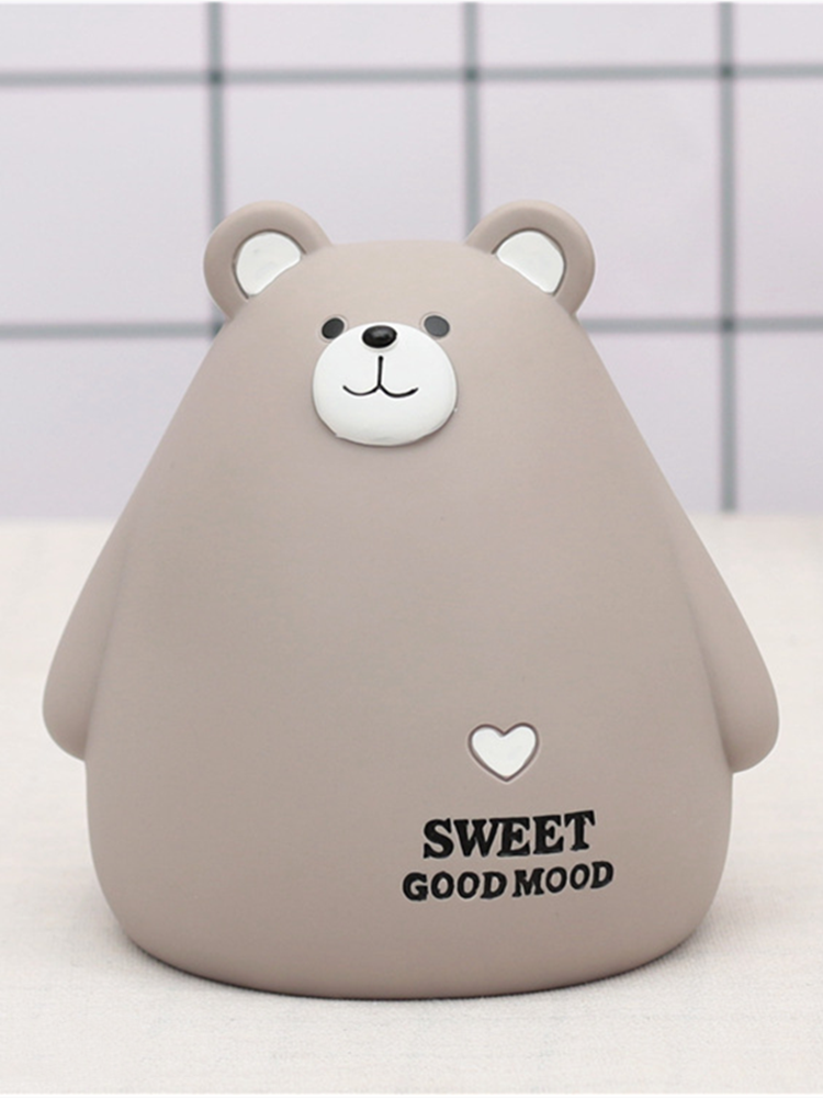 Top-Ornament Anti-Break Bear Money-Box for Home Cute Toys Party Student Birthday-Gifts