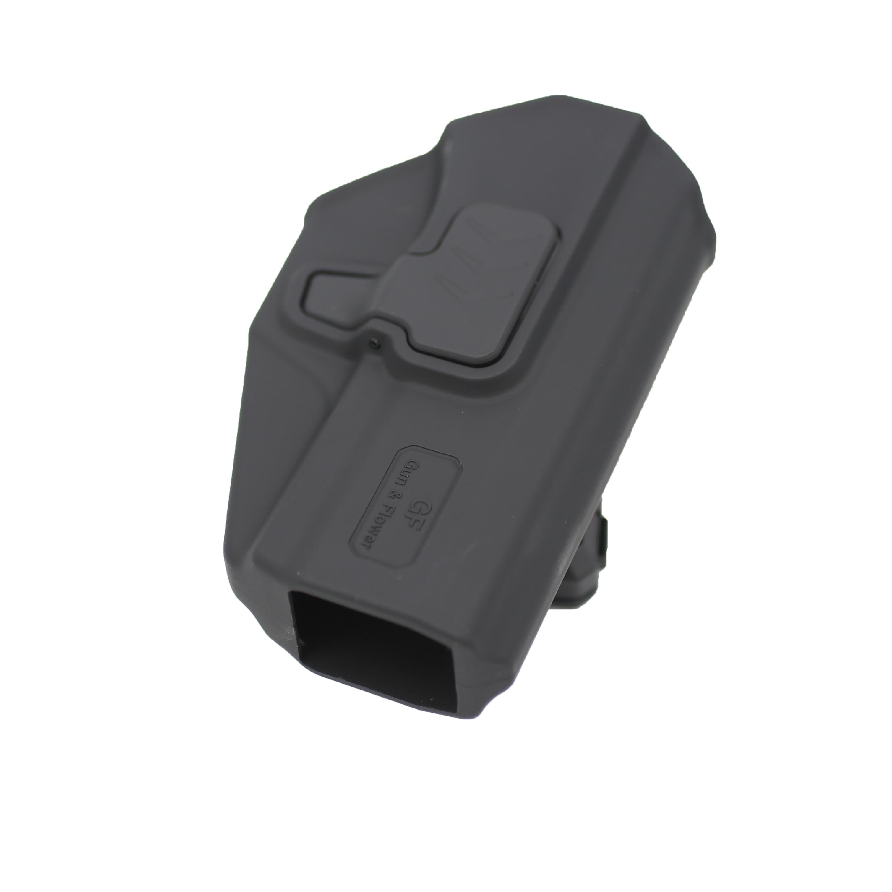 Coldre de Plástico Suporte de Polímero Flower Nível ii Owb Índice Liberação Escondida Levar Bolsa Case Gun & Sig P320
