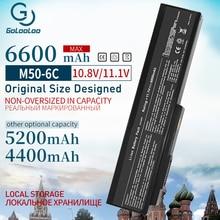11.1v Battery for ASUS A32-M50 A33-M50 M50 M50S L07205 M50Sr G50  A32-M50 N53S N53SV N53T N61 N53TA N61J N61D N61VG N61JA N61JV цены онлайн