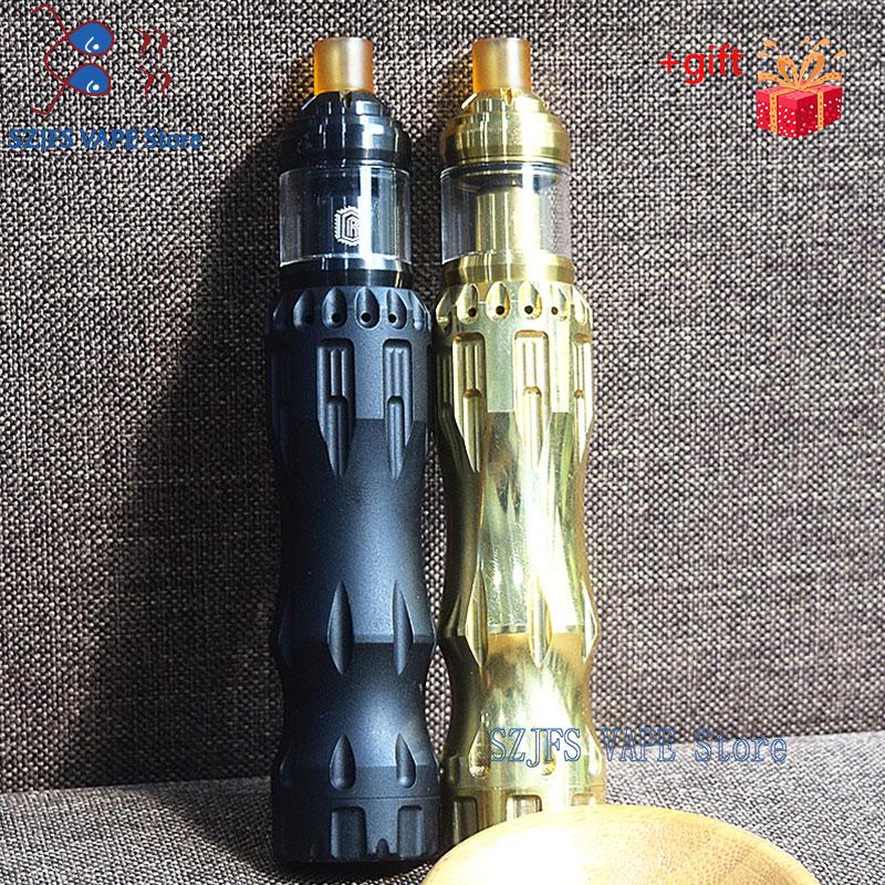 Newest Overlorb Mechanical Mod Fit Reloa18650/20700/21700 Battery Vaporizer 24mm Mech Mods For Vape Tank Electronic Cigarette