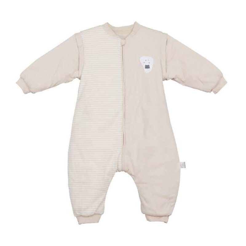 Baby Sleeping Sack Pajamas Thicken  Swaddling Kids Winter Clothes Infant Suit Onesies  Long Sleeve Warm