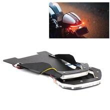 For BMW R NINE T Tail Light Integrated Turn Signal Brack license plate holder with LED ninet Rninet R9T RNINE