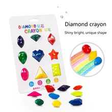 Drawing-Wax Crayons Art-Supplies Educational Painting Washable Baby Kids 9-Colors