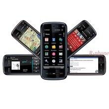 Nokia 100% xpress, celular remodelado 5800 original, telefone móvel desbloqueado, 3g, wifi, gps de 3.15mp