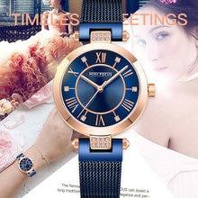 Модные женские часы mini focus с инкрустированными бриллиантами