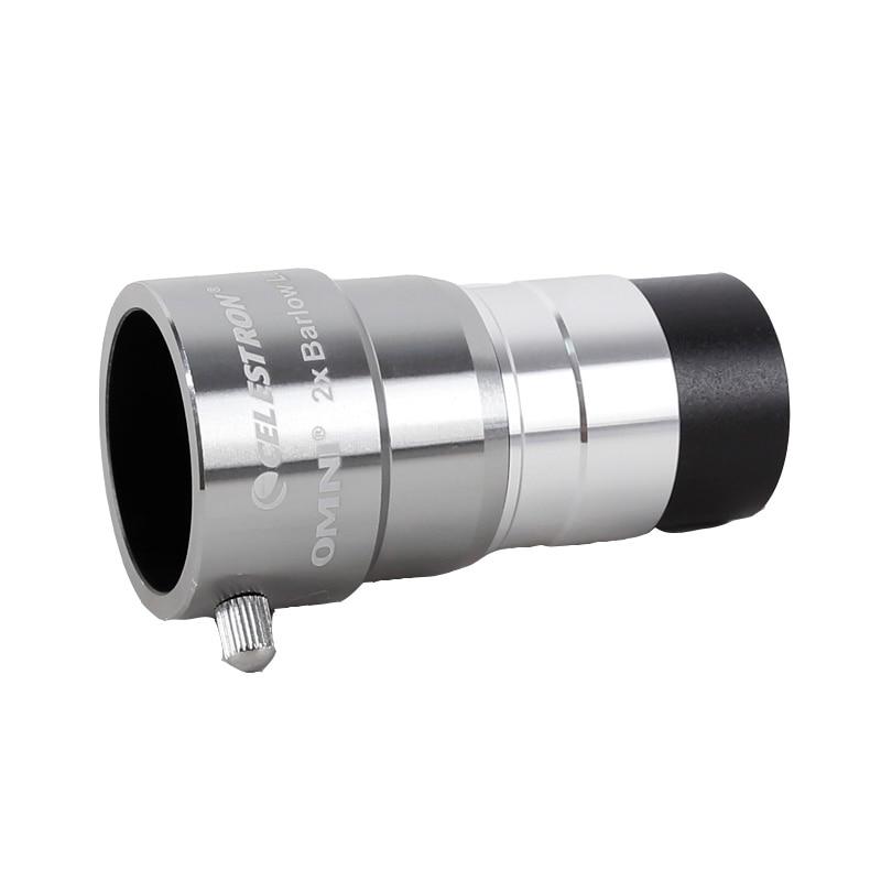 Hot salesCelestron Omni 2X Barlow Lens magnification eyepiece professional telescope barlow parts Astronomical eyepiece
