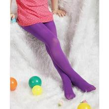 Kids Girls Tights Pantyhose Hosiery Silk Stockings Ballet Dance Socks 1-9 Years /BY(China)