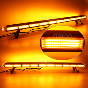 """Image 4 - 29 """" 63"""" COB led acil durum uyarı ışıkları kurtarma LightBar Wrecker yanıp sönen işaret ışığı çakarlı lamba çubuğu Amber"""
