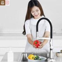 Youpin Dabai U Yue mutfak akıllı sensör anahtarı musluk 300 döner kol evrensel tüp su mutfak su musluk
