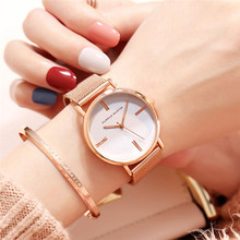 цена на Women Watches Waterproof Japan Quartz Movement Fashion Watch Women Quartz Luxury Stainless Steel Mesh Ladies Watch Reloj Mujer