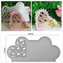 Eastshape Heart Cutting Dies Crafts Metal Die for Scrapbooking Card Album Embossing Cut New Template