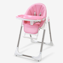 лучшая цена Baby dining chair foldable multifunctional infant seat seat dining table kids table baby high chair