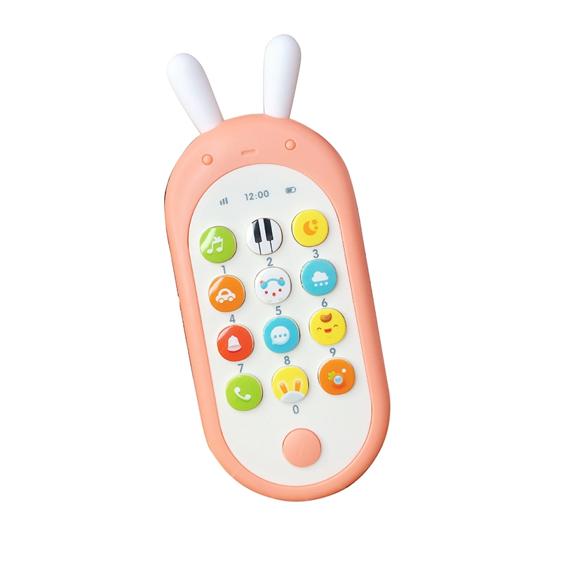 Baby Phone Toy Mobile Phone For Kids Telephone Toy Enfant Early Educational Mobile Toy Chinese/English Learning Machine
