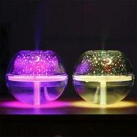 Kryształowy nawilżacz projekcyjny duża objętość USB kreatywne gospodarstwo domowe kolorowe projekcja oczyszczanie powietrza nawilżacz nocne światło w Nawilżacze powietrza od AGD na
