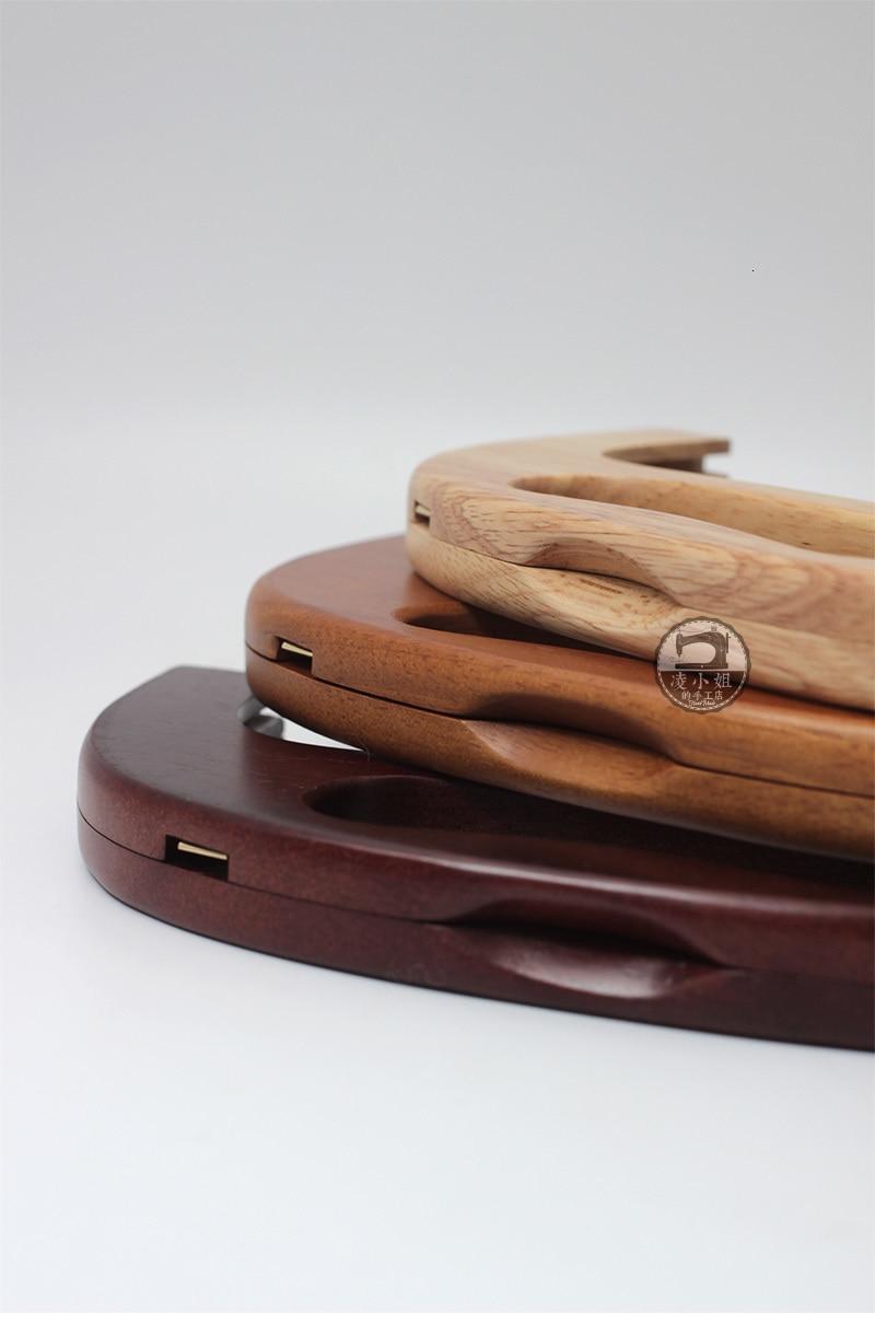 25cm de alta qualidade mão madeira maciça