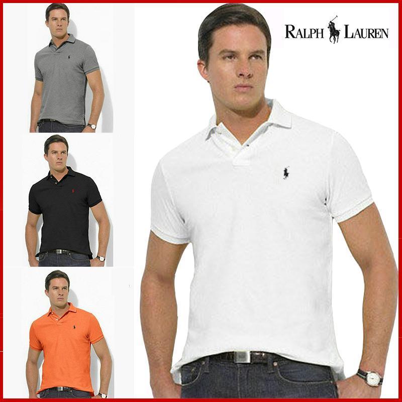 Man Polo Shirt Brand Mens Casual Deer Embroidery  Polo Shirt Men Short Sleeve High Quantity Polo Men 8741