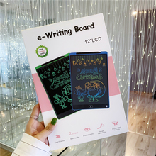 купить LCD Writing Tablet 12 inch Digital Drawing Electronic Handwriting Pad Message Graphics Board Kids Writing Board Children Gifts дешево