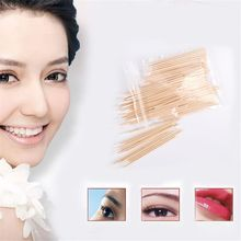 Removing-Tool Micro-Brushes Swab Eyelash-Extension-Tool Lash-Glue Disposable 100pcs Lint-Free