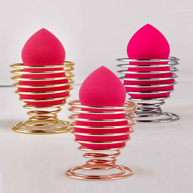 1PCS Makeup Sponge Holders Cosmetic Puff Display Stand Gourd Shape Sponge Egg Drying Holder Bracket Make up Puff Support