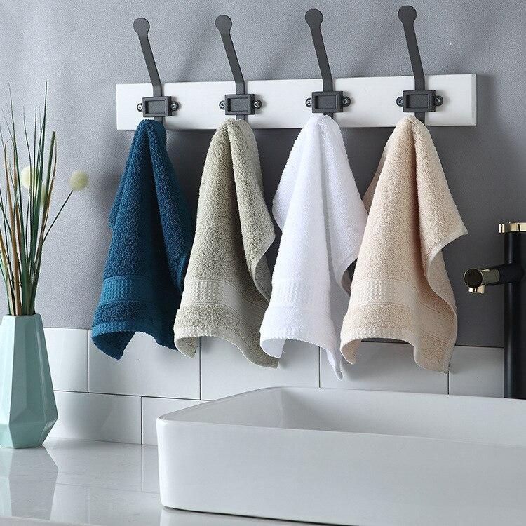 3pcs lot Bath Towel Set 100 Cotton Soft Absorbent Square scarf Face Washcloth Bath Towel