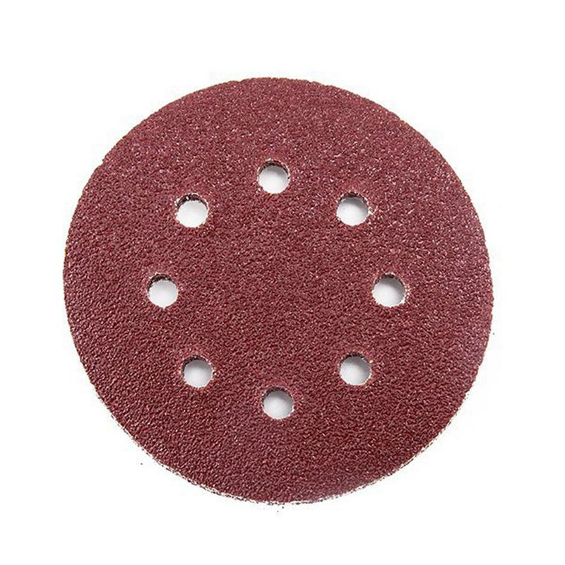 40 X Mixed Grit Sanding Discs For PEX 220/300 Random Orbital Sander 125mm