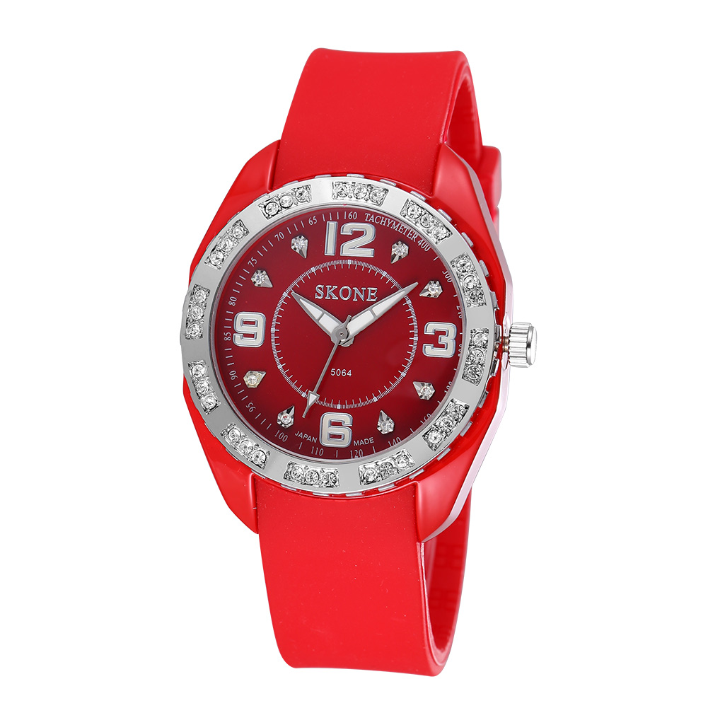 2020 New Fashion Luxury Crystal Diamond Watch for Women Silicone Watchband Quartz Student Watch relogio feminino reloj mujer