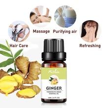 Mishiu Ginger Essential Oil Treating Colds Fragrance Improvi