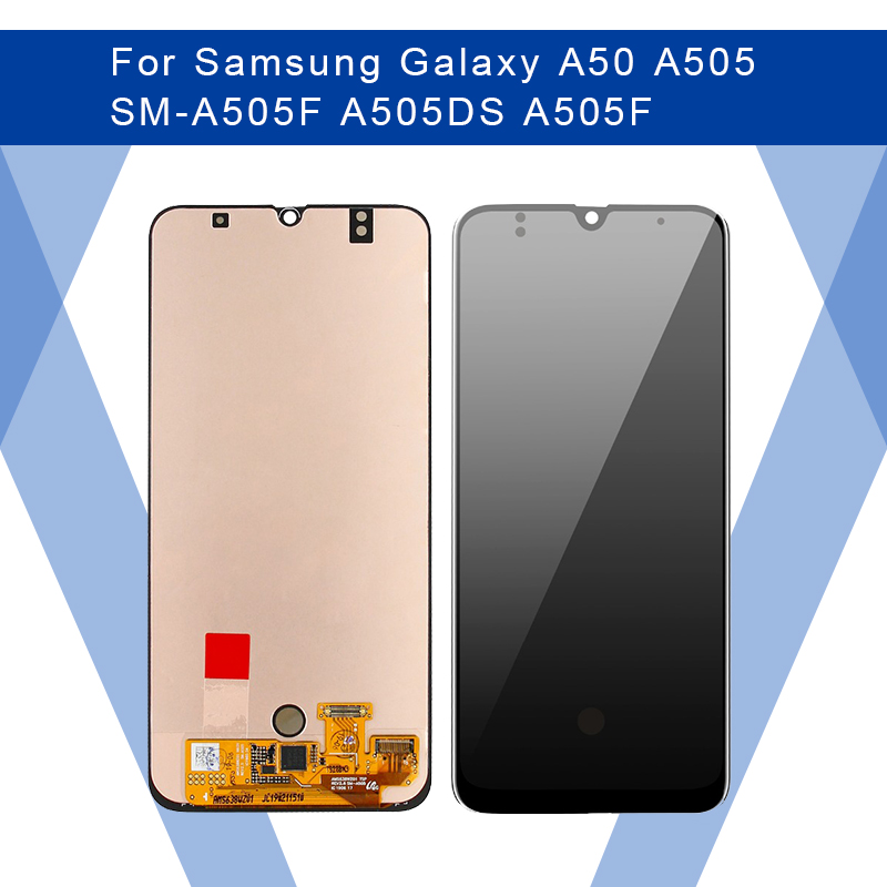 For SAMSUNG Galaxy A50 A505 SM-A505F A505F LCD AMOLED Display Screen+Touch Panel Digitizer Assembly For SAMSUNG Display Original image