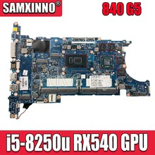840 G5 per HP EliteBook 850 G5 840 G5 SCHEDA MADRE i5-8250u cpu RX540 GPU 6050A2945601-MB L16119-601Test ORIGINALE al 100% di lavoro(China)