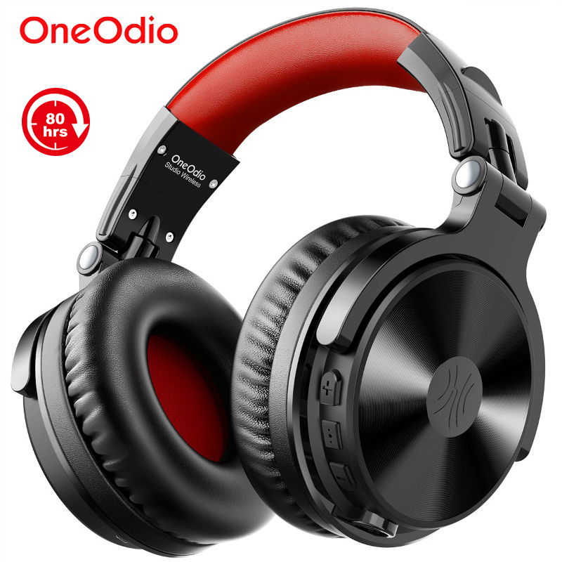Oneodio 80h Wireless Bluetooth 5 0 Headset Wired Gaming Headphones With Microphone For PC PS4 Call Center Office Skype Headphone
